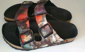 Birkenstock Papillio Arizona Boutique Textil Sandale floral Gr 37