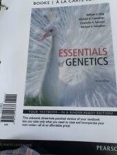 Essentials of Genetics, Books a la Carte Edition by Michael R. Cummings, Willia…