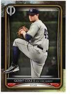 Gerrit Cole 2020 Topps Tribute 5x7 Gold #62 /10 Yankees