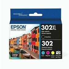 Epson 302XL/302 Combo Ink Cartridges XP6000 XP6100 Expires 2023 New sealed box