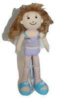Groovy Girls Kayla Plush Soft Doll Light Brown Hair Brown 2001 Manhattan Toy
