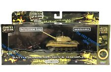 1:72 Diecast Unimax Toys Forces of Valor WWII German Army King Tiger Tank Set