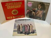 Classic Rock Vinyl LP Lot Jefferson Starship RedOctopus Peter Frampton Foreigner