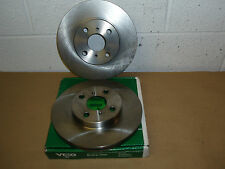 Toyota MR2 ZZW30 Model 1.8 VVTi 1999on VL977 Vented Front Brake Discs (Pair)