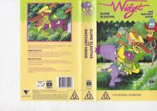 WIDGET ~WIDGET SLIME SLEUTHS AND RATCHET HOOD VHS VIDEO PAL~ A RARE FIND