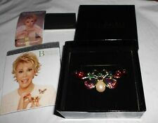 NIB Joan Rivers Jeweled Rainbow Butterfly No. 1 of Bejeweled Collection