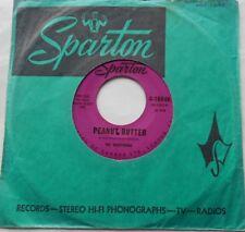 "THE MARATHONS Peanut Butter / Talkin' Trash NM- CANADA 1961 SOUL 45 7"" SPARTON"