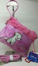 Borsa pochette DISNEY gattino MARIE colore rosa con bordo in pelliccia sintetica
