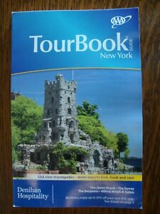 AAA NEW YORK Tour Book Travel Guide TourBook VACATION '20 NY Street Road Map NEW