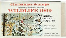 Wildlife 1969 Christmas Stamp/Seals Booklet