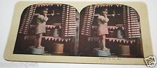 Stereoview Vintage Antique 1900s African American Caught Stealing Mom's Pie Rare