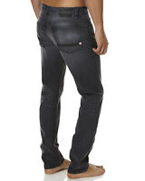 Element Desoto Straight Tapered Black Stretch Jeans, Size 36. NWT. RRP $99.99.