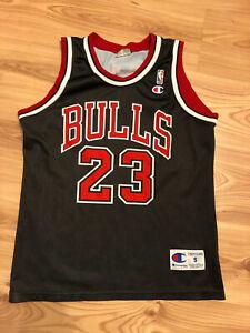 Vintage Michael Jordan Chicago Bulls Champion Jersey NBA Size S