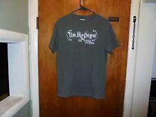 Tim McGraw : Set This Circus Down Tour T Shirt Green Medium Size Shirt