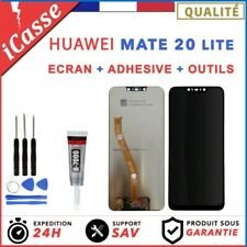 ECRAN LCD + VITRE TACTILE HUAWEI MATE 20 LITE NOIR SNE-LX1 + OUTILS + COLLE