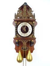 Zaanse Dutch Wall REPAIR Clock Vintage (Warmink Junghans Hermle Kienzle Era)