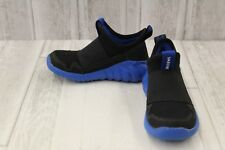 Skechers Relaxed Fit Hydus Athletic Shoes - Little Boys' Size 10.5, Black/Blue