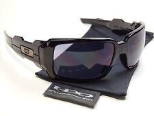 Oakley Oil Drum Black Grey Sonnenbrille Rig Monster Dog Antix Offshoot Doggle XX