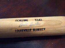 Cleveland Indians Autographed Brett Butler Used Louisville Slugger Bat MLB