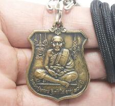 BLESSED 1999 LP MOON NARAI ON GARUDA THAI AMULET PENDANT LUCKY RICH WEALTH MONEY