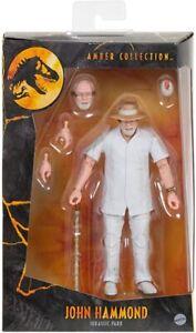 Jurassic World Amber Collection John Hammond Collectable Action Figure