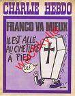 Charlie Hebdo n°192 du 22/07/1974 Mort de Franco Reiser
