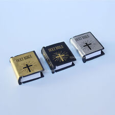"3 x 1:6 Scale Holy Bible Mini Church Books Model Toys For 12""Action Figure Doll"