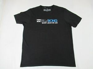 BILLABONG SURF WAVE LOGO SAINT JEAN DE LUZ -BLACK 3XL T-SHIRT D1629