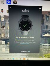 Suunto Ambit3 PEAK GPS Watch Made In Finland Perfect Condition