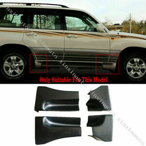 4X For Toyota Land Cruiser LC100 1998-2007 Nerf Bars Side Angle protection cover