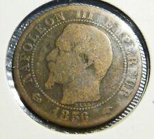 Frankrijk 5 centimes 1856 (A)