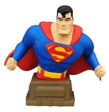 "2016 DC COMICS SUPERMAN THE ANIMATED SERIES SUPERMAN 6"" RESIN BUST MIB NEW"