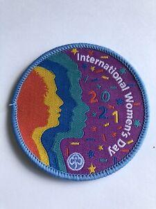 Girlguiding - International Women's Day 2021 -  Rainbows Brownies Guides - badge