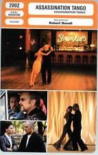 ASSASSINATION TANGO - Robert Duvall (Fiche Cinéma) 2002