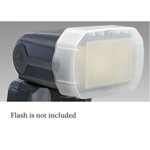 JJC FC-600EX Flash Diffuser Dome for Canon 600ex Speedlight 600 EX Heavy Duty