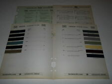 1940 HUDSON PAINT CHIP CHART COLORS SHERWIN WILLIAMS PLUS MORE