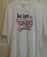 Budweiser Light at the oasis lounge t-shirt