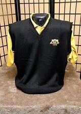 Alpha Phi Alpha Black embroidered vest