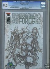 Cyberforce v.2 #1 CGC 9.2 Wizard World VIP edition