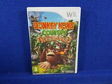 *wii DONKEY KONG Country Returns (NI) An All-New Adventure! Nintendo PAL UK