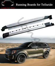Fits for Kia Telluride 2019 2020 Side Step Running Board Nerf Bar Protector