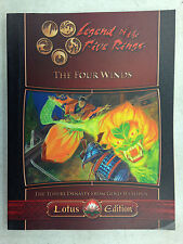 LEGEND OF THE FIVE RINGS RPG THE FOUR WINDS TOTURI DYNASTY FROM GOLD TO LOTUS
