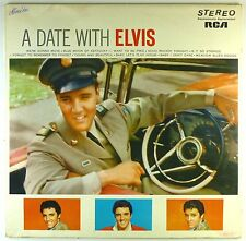 "12"" LP-ELVIS PRESLEY-A Date With Elvis-a3855-Slavati & cleaned"