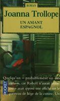 Livre de poche un amant espagnol  J. Trollope book