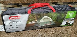 Coleman Meadow Falls 4 Person Easy Set Dome Tent NEW
