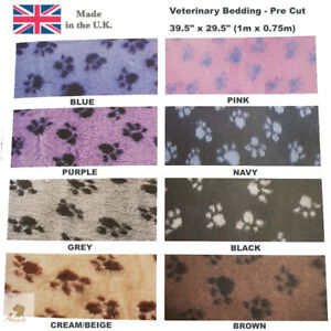 Hem & Boo Dog Veterinary Bedding None Slip - 1m x 0.75m Ideal Puppy Whelping Box