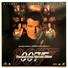 LASERDISC JAMES BOND TOMORROW NEVER DIES RARE