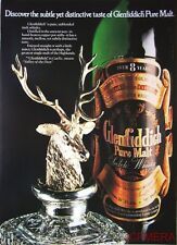1977 GLENFIDDICH Pure Malt Scotch Whisky Advert #5 - Original Print AD