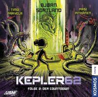 KEPLER62 - FOLGE 02: DER COUNTDOWN (DAS CD HÖRSPIEL)  2 CD NEW