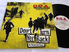 D.O.A. - Don't Turn Your Back On Desperate Times Alternative Tentacles Virus LP